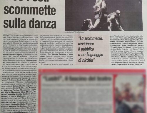 Articoli – Rassegna Danza Contemporanea 2019/2020