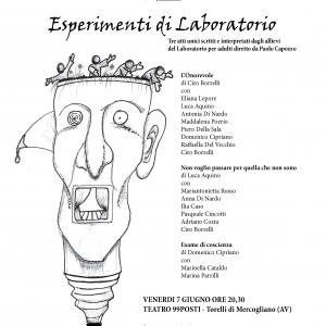 Esperimenti di Laboratorio - Locandina